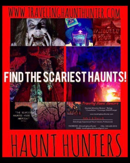 Find the scariest haunts around at Haunt Hunters!